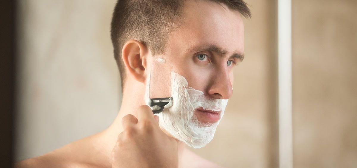 Este tratamiento alivia la irritación después del afeitado 4867a1cb3956