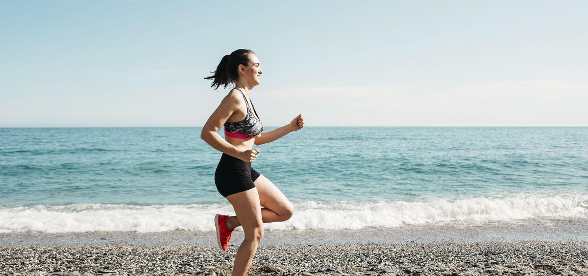 Entrenar en la playa es una de las mejores opciones para conseguir un cuerpo 10