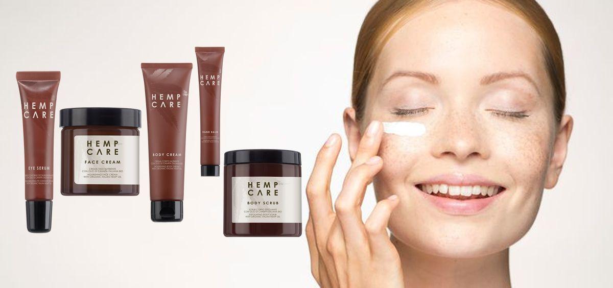 Nueva línea de cuidado facial y corporal de Hemp Care