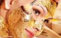 Las mascarillas de oro fortalecen y dan brillo a la piel