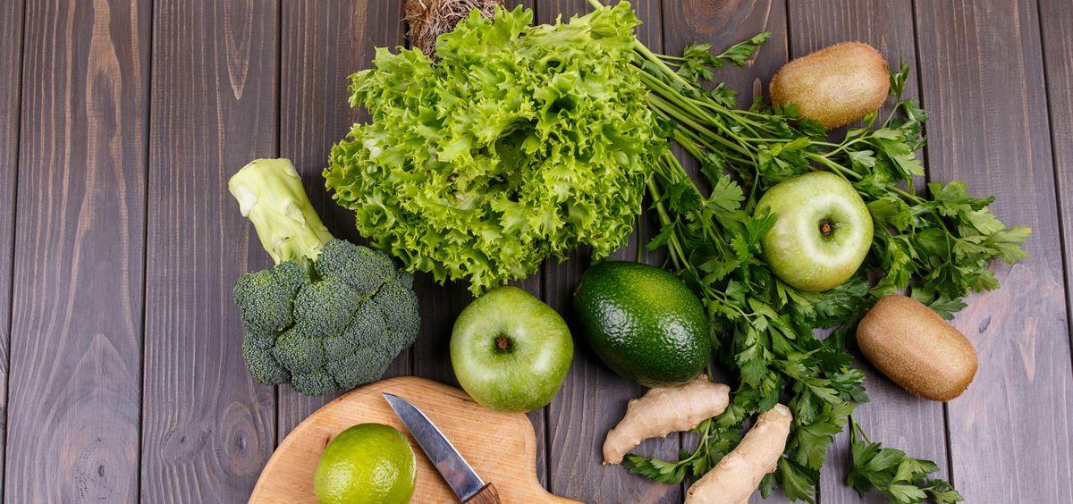 La clorofila está presente en gran parte de los alimentos