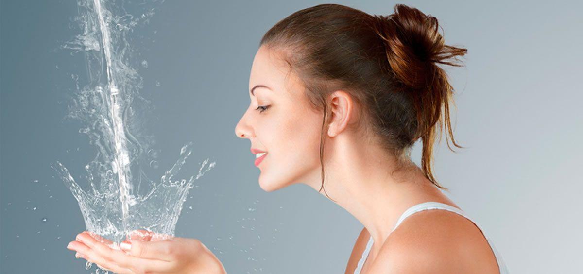 Los rostros más jóvenes están empezando a utilizar las texturas watery, también conocidas como sorbete