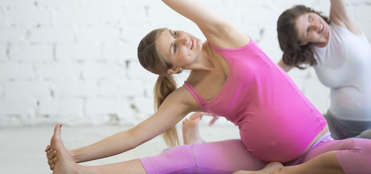 El yoga o pilates son actividades recomendadas durante el embarazo