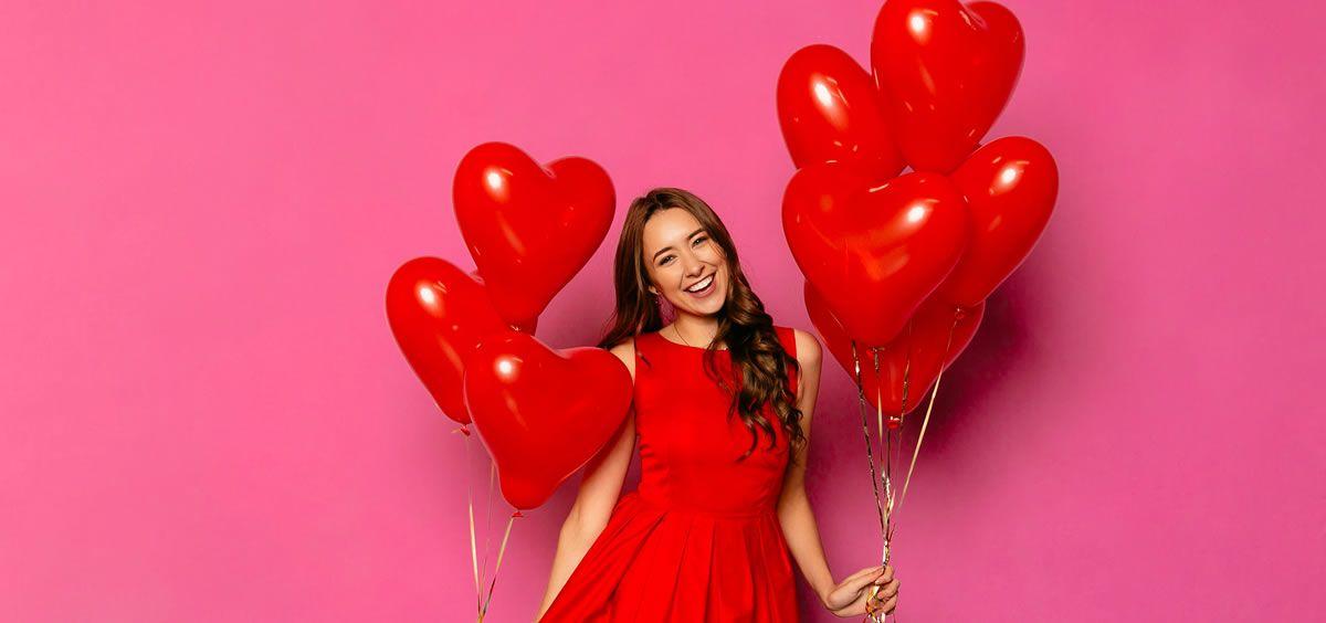 En San Valentín es genial verse y que nos vean radiantes