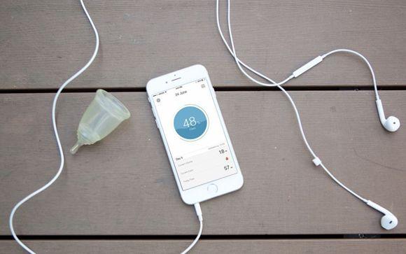 """LoonCup, la copa menstrual inteligente en formato """"wearable"""""""