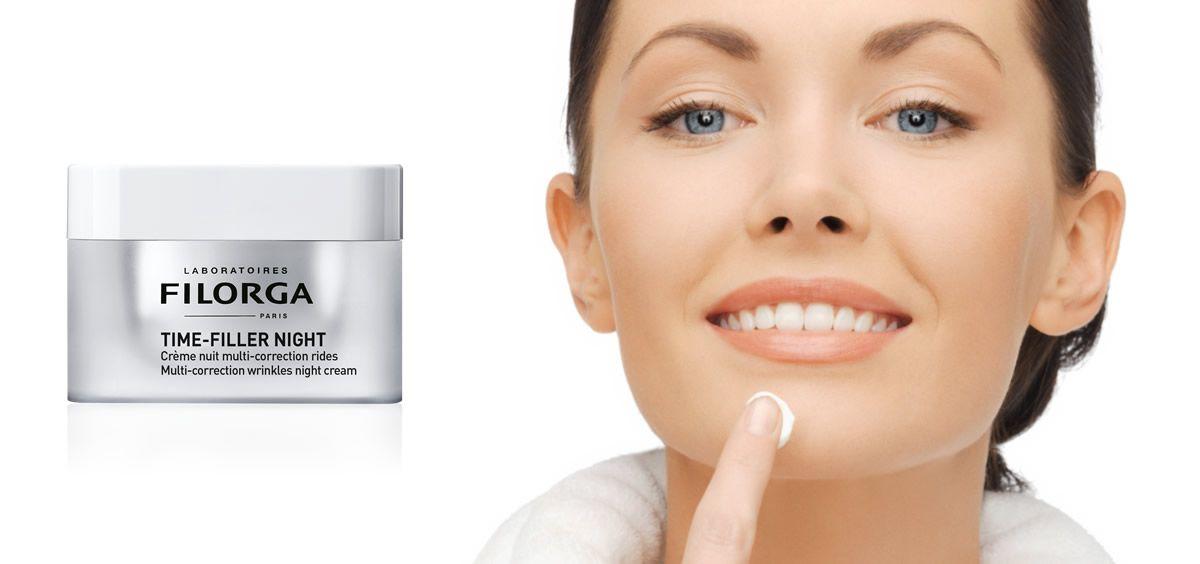 Nueva crema de noche antiarrugas de Laboratoires Filorga