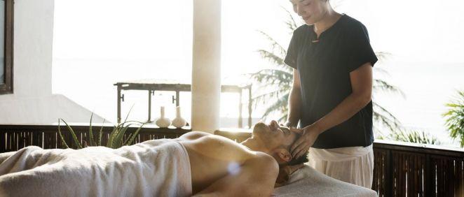 El masaje se llama ''Thank you daddy'', y está destinado a que se relajen y liberen las tensiones que produce el día a día