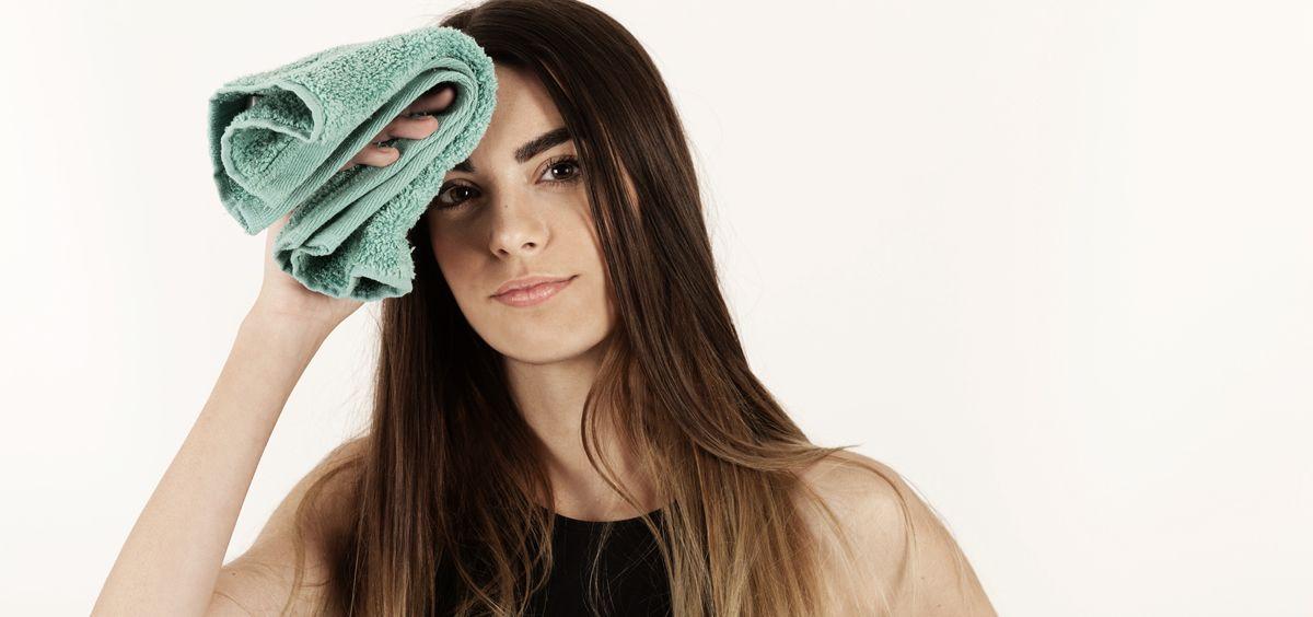 La hiperhidrosis se refiere a la sudoración excesiva