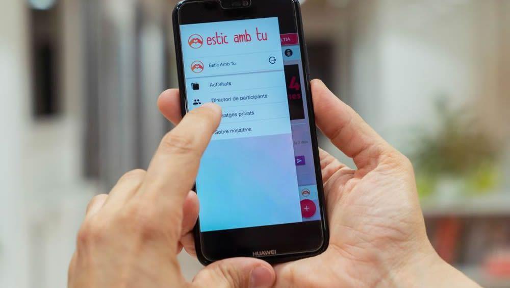 Desarrollan una aplicación para apoyar a los cuidadores de enfermos de alzhéimer (Foto. Universidad Central de Cataluña)