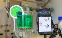 Hypertaste, la 'lengua electrónica' que permite al usuario probar líquidos (Foto. IBM España)