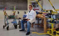 El director del Grado en Ingeniería Biomédica de la Universidad CEU San Pablo e investigador principal del proyecto, Abraham Otero (Foto: Universidad CEU San Pablo)