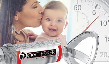 Dechoker es un dispositivo médico anti atragantamiento. (Foto. Dechoker)