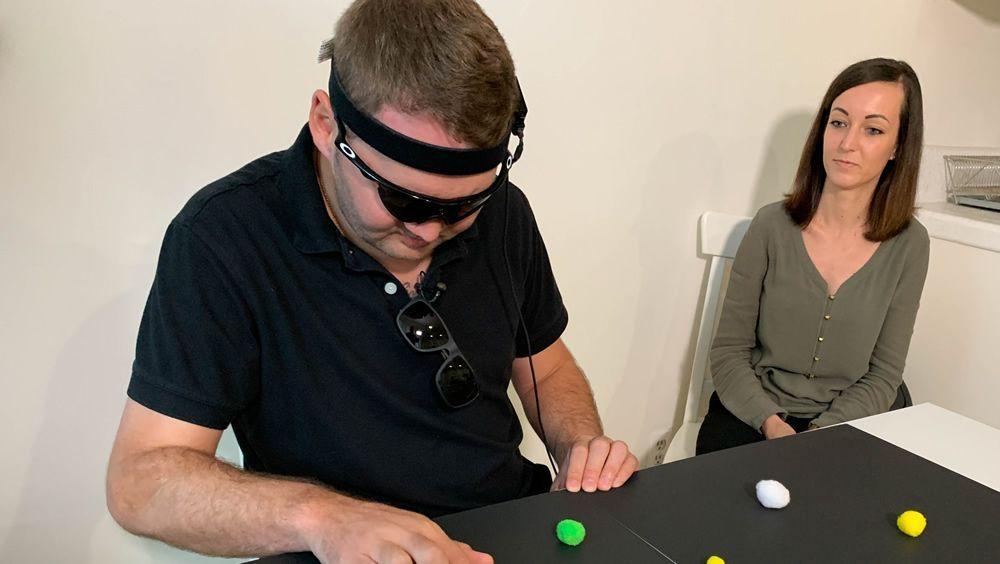 Nuevo implante cerebral restaura la percepción visual a los ciegos. (Foto. UCLA Health)