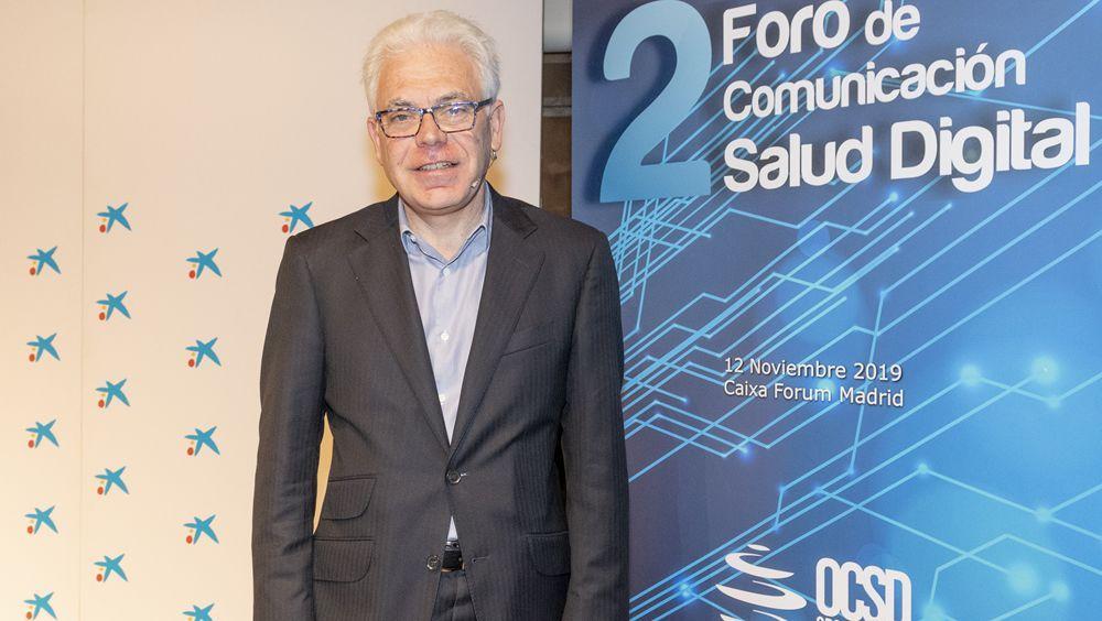 Jesús María Fernández, en el II Foro OCSD (Foto. ConSalud)