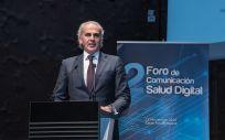 Enrique Ruiz Escudero, consejero de Sanidad de la Comunidad de Madrid, clausura el Foro OCSD