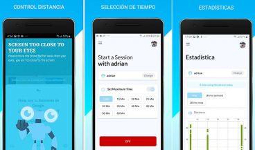 Aplicación EyesApp (Foto. Fotomontaje ConSalud.es)