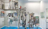 Sala de Fermendatores de 3P Biopharmaceuticals (Foto. 3P Biopharmaceuticals)