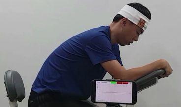 Un sensor corporal para medir los electrolitos del sudor (Foto. Captura de pantalla Youtube)