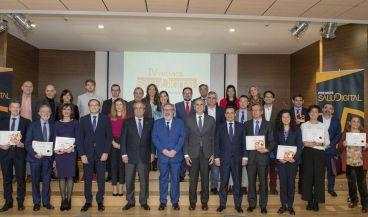 Foto de familia Premios Saludigital 2020. (Foto: Óscar Frutos)