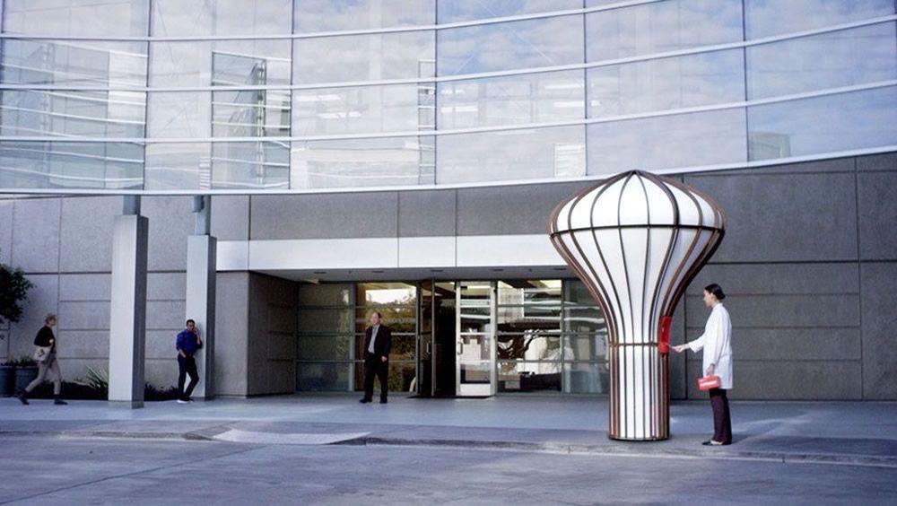Nueva estación de drones (Foto.  Matternet)
