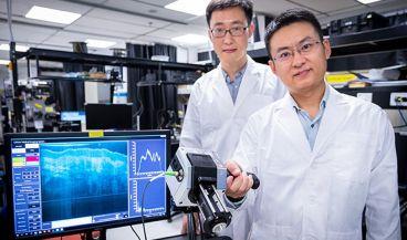Diseñan un dispositivo para detectar tumores debajo de la superficie de la piel (Foto. Universidad Tecnológica de Nanyang, Singapur)