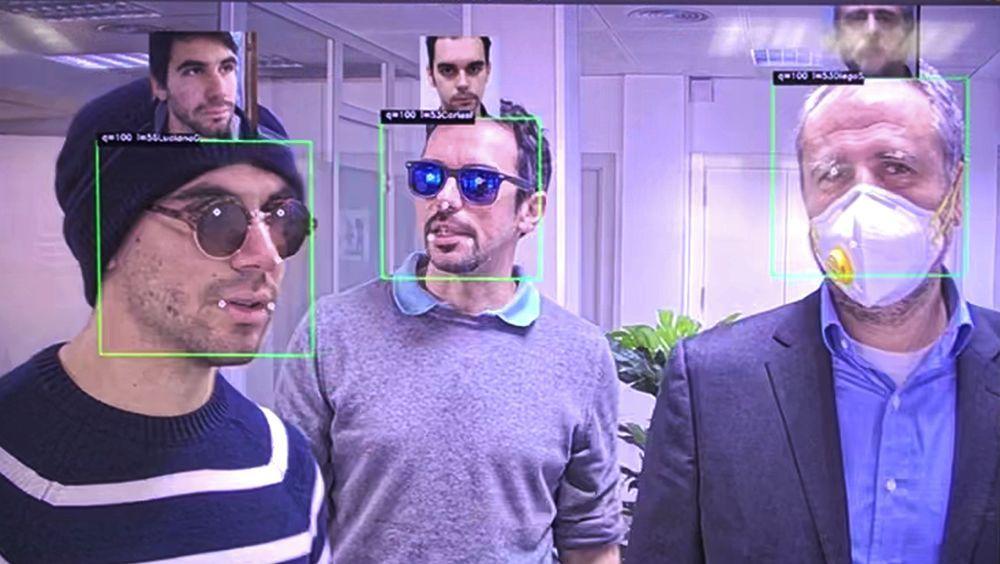 Herta lanza un reconocimiento facial que permite identificar hasta con mascarilla (Foto. Herta)