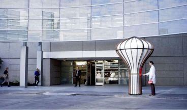 La Estación proporciona un intercambio de carga totalmente automatizado en los campus de los hospitales (Foto. Matternet)