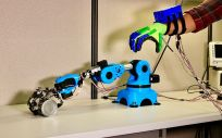 Mano robótica (Foto. Facultad de Ingeniería de la Universidad Texas A&M)