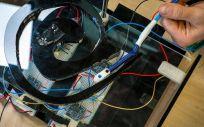 Sistema de seguimiento magnético para robots quirúrgicos flexibles (Foto. Universidad de California)