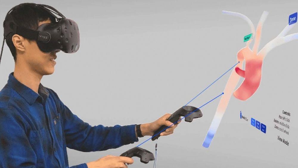 Realidad virtual del flujo sanguíneo para mejorar las intervenciones cardiovasculares (Foto. Universidad de Duke)