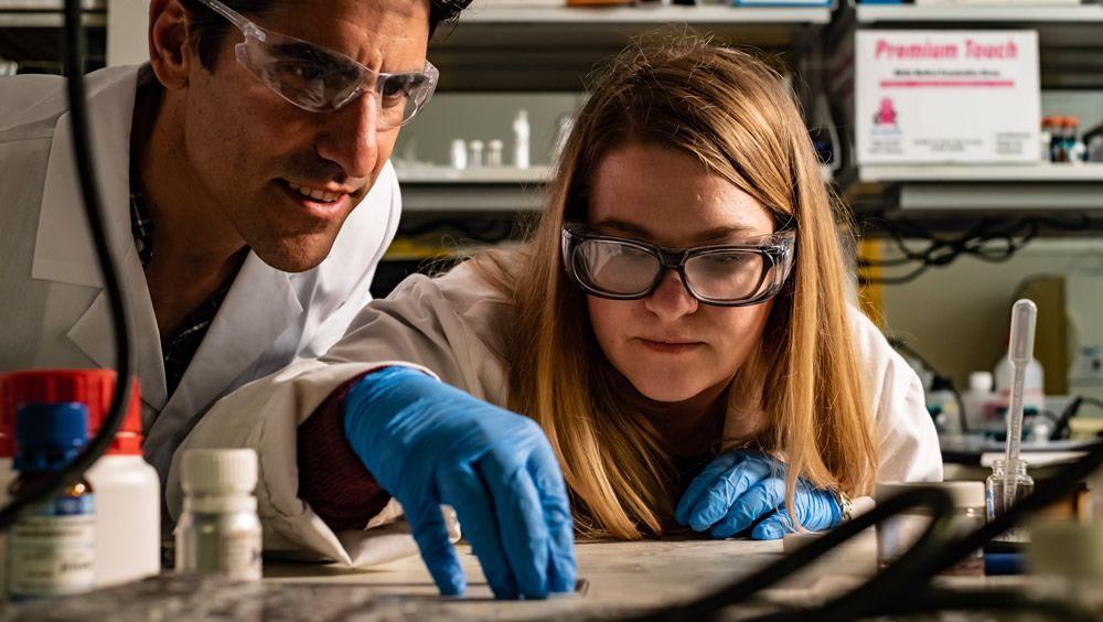 Método con impresión 3D para crear materiales biomédicos que cambian de forma (Foto. Universidad de Rice)