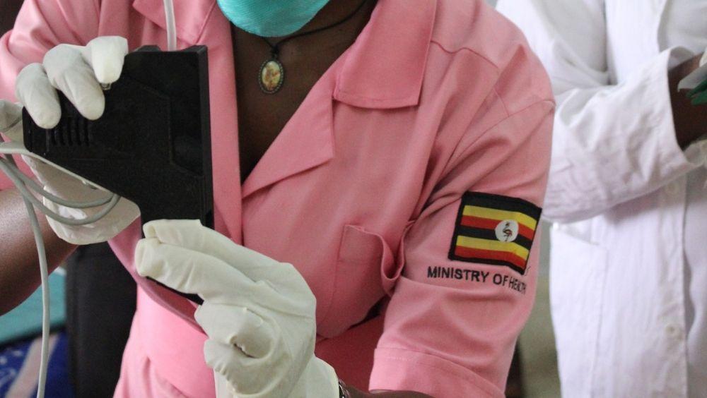 Sistema de infusión por gravedad ECGF IS para terapia (Foto. Sociedad Fraunhofer)