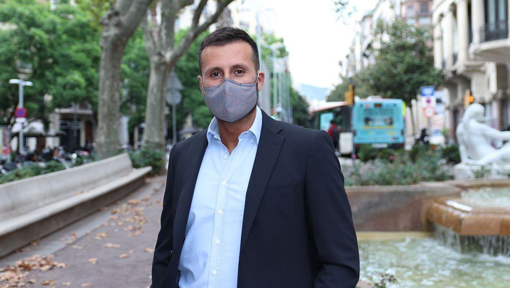 Antonio Archer, CEO de Happo Mask (Foto. SaluDigital)