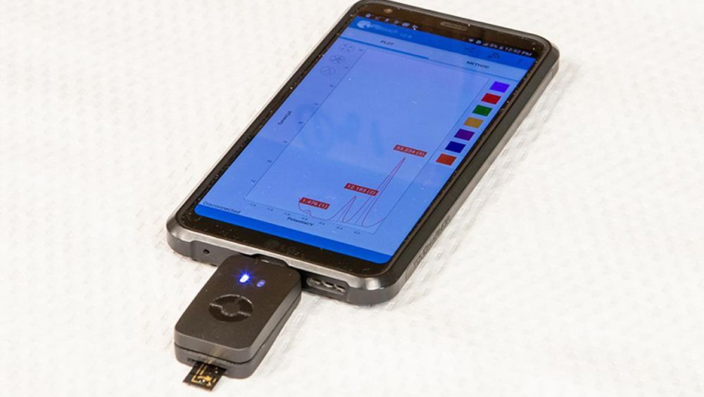 Una imagen ilustrativa del uso del sistema (Foto. Universidad de McMaster)