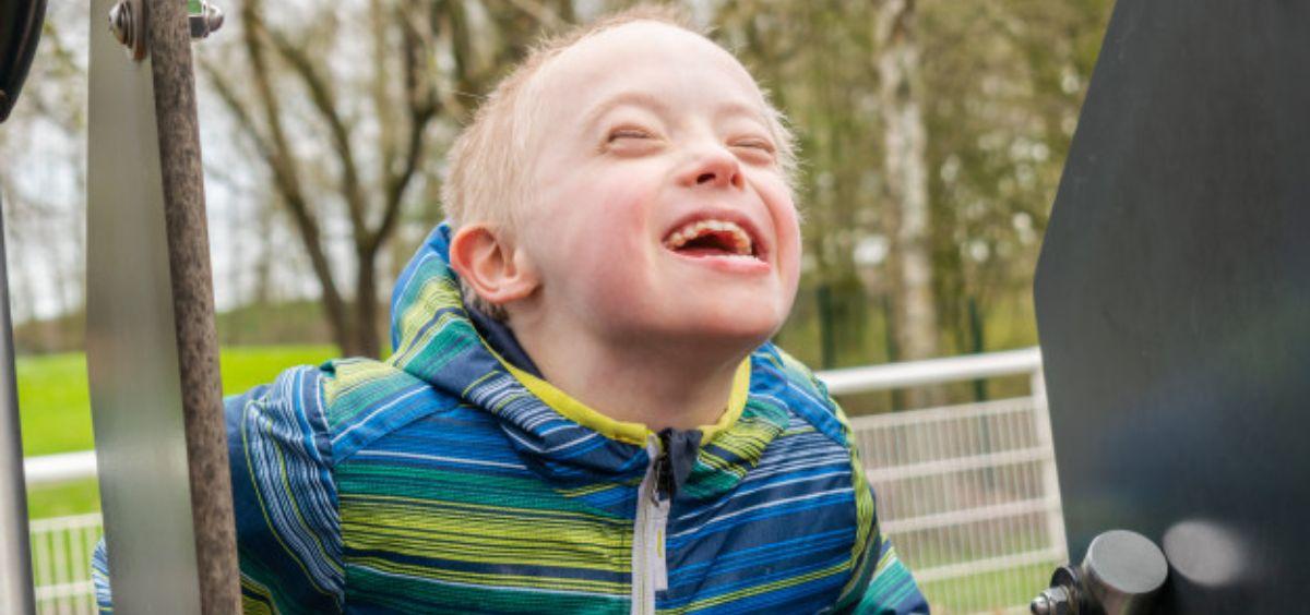 Niño con síndrome de Down (Foto. Freepik)