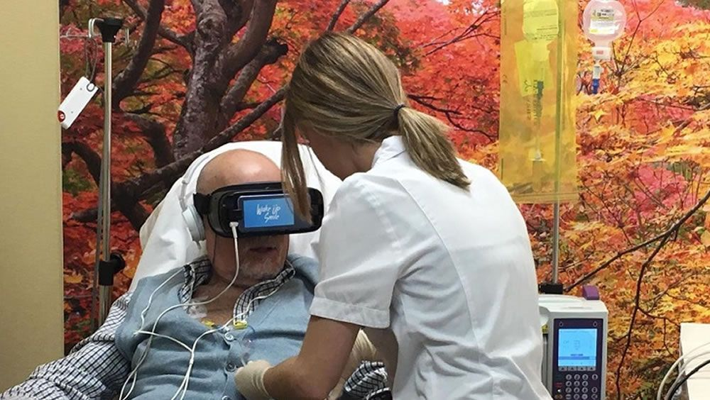 Un proyecto de Realidad Virtual ayuda a pacientes en hospitales y residencias de mayores