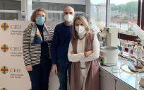 Una imagen del equipo investigador (Foto. CEU San Pablo)