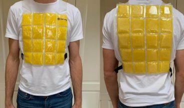 Chalecos refrigerantes adaptados para utilizar junto con equipos de protección individual