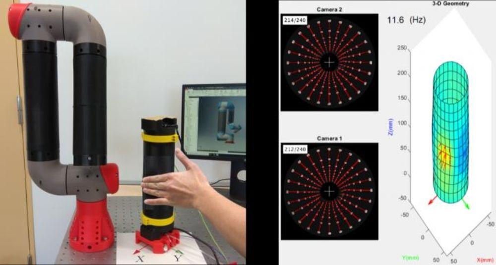 El sistema de detección artificial TacLINK (Foto. Eurekalert)