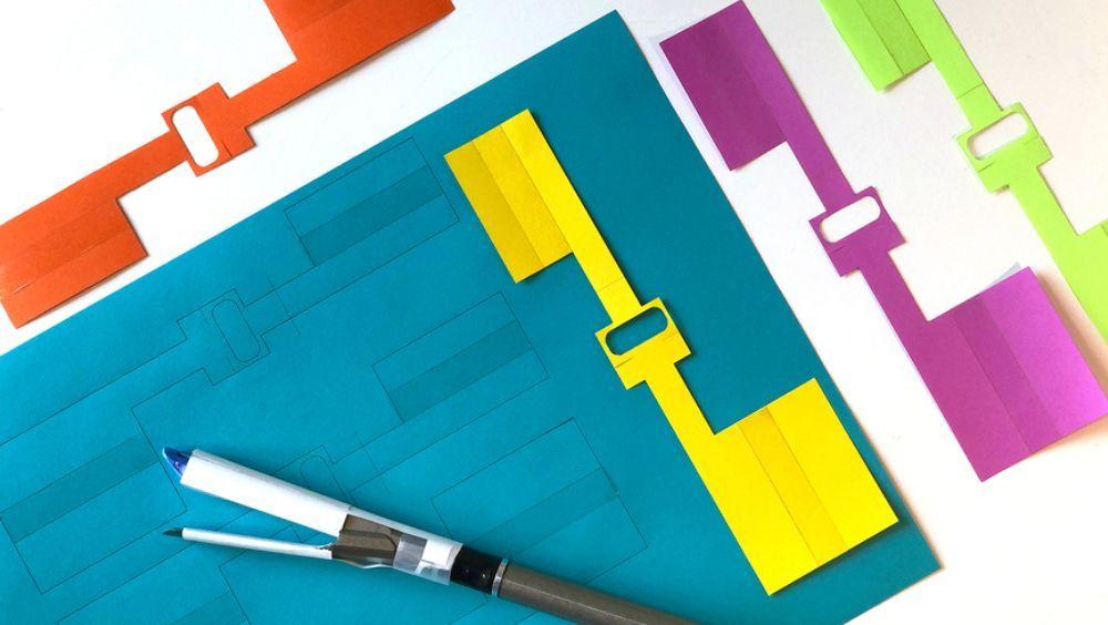 Parche médico inspirado en el origami que permite sellar lesiones internas (Foto. MIT/Felice Frankel)