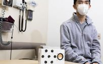 Altavoz inteligente capaz de detectar y analizar el ritmo cardíaco (Foto. Universidad de Washington)