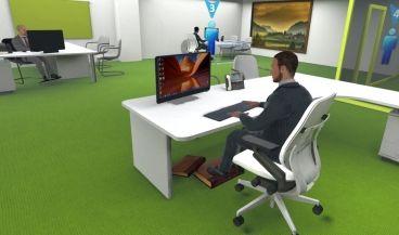 Sistema de Realidad Virtual diseñado por Quirónprevención