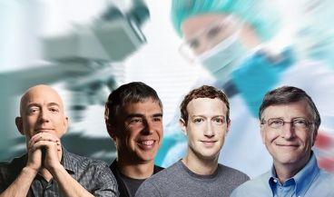 Los grandes magnates tecnológicos se vuelcan con la innovación en salud