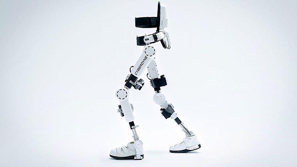 HAL, el exoesqueleto controlado por la mente que permitiría andar a pacientes en rehabilitación