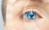 Las lentes inteligentes desarrolladas por los investigadores del UNIST visualizan las señales de detección de glucosa en tiempo real.