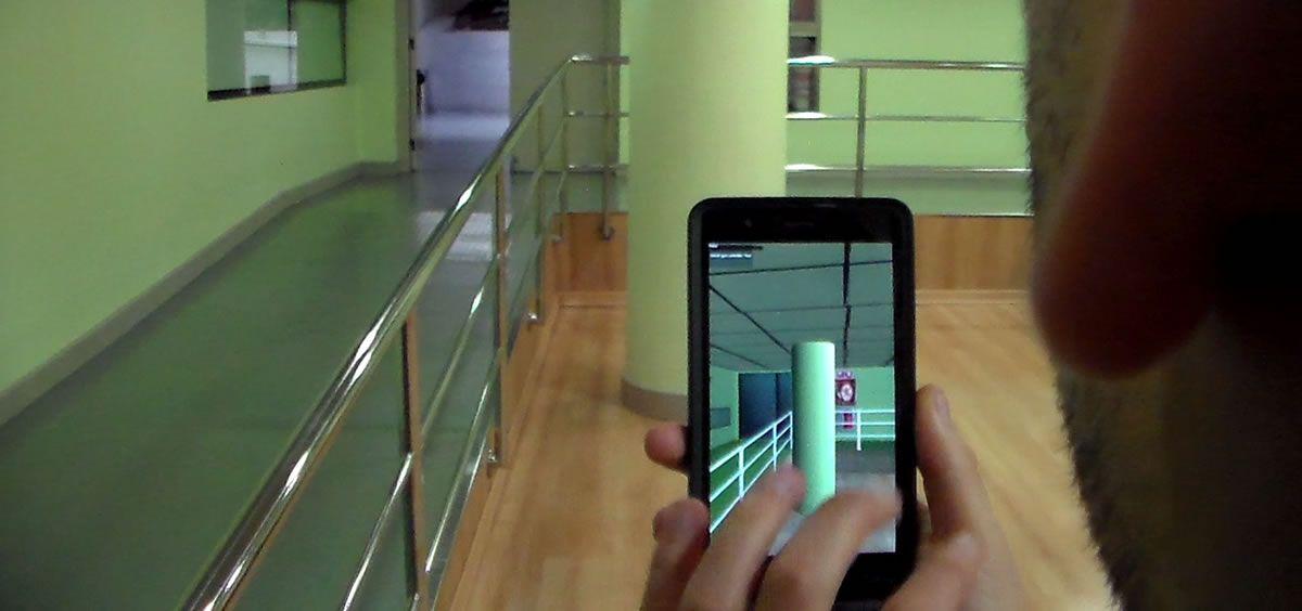 E-glance genera mapa virtuales de interiores en mapas virtuales a través del teléfono móvil e informa de los posibles obstáculos