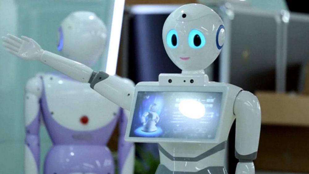 Xiaoyi, el robot médico desarrollado por la empresa china de IA, iFlytek.