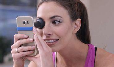 El error de refracción es solo un indicador de la salud del ojo, por lo que el dispositivo no reemplaza a las visitas a un optometrista.