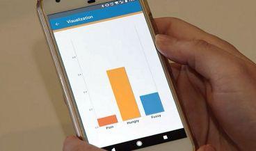 Una app facilita el cuidado de los bebés a los padres sordos