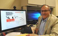 Alexander Raikhel, investigador de la Universidad de California / Foto: I. Pittalwala, UC Riverside.